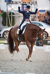 Cornelissen Adelinde (NED) - Jerich Parzival <br /> CDIO5 Grand Prix Freestyle <br /> CHIO Rotterdam 2014<br /> © Dirk Caremans