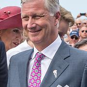 NLD/Terneuzen/20190831 - Start viering 75 jaar vrijheid,  Koning Filip van Belgie