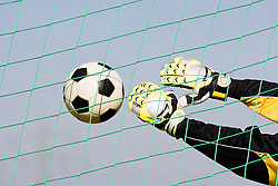 Dec. 05, 2012 - Goalkeeper making a save (Credit Image: © Image Source/ZUMAPRESS.com)