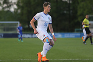Lorenzo Colombo of of Italy (19) during the UEFA European Under 17 Championship 2018 match between Israel and Italy at St George's Park National Football Centre, Burton-Upon-Trent, United Kingdom on 10 May 2018. Picture by Mick Haynes.