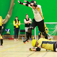 Tyne and Fear take on Crash Test Brummies in the Tier 1 Mens British Champs at Castle Leisure Centre, Bury, 2017-05-06