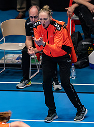 Ass. Coach Ekaterina Andryushina of Netherlands  in action during the Women's friendly match between Netherlands and Slovenia at De Maaspoort on march 19, 2021 in Den Bosch, Netherlands (Photo by RHF Agency/Ronald Hoogendoorn)
