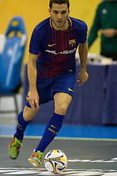 November 22, 2017 - Pescara, PE, Italy - Dyego Henrique Zuffo of FC Barcelona during the Elite Round of UEFA Futsal Cup 17/18 match between FC Barcelona and ZVV 'T Knoppount at Giovanni Paolo II arena on November 22, 2017 in Pescara, Italy. (Credit Image: © Danilo Di Giovanni/NurPhoto via ZUMA Press)