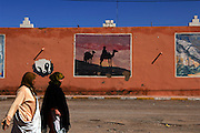 Tinghir or Tinerhir is a city in the region of Drâa-Tafilalet, south of the High Atlas and north of the Little Atlas in southeastern Morocco. It is the capital of Tinghir Province.