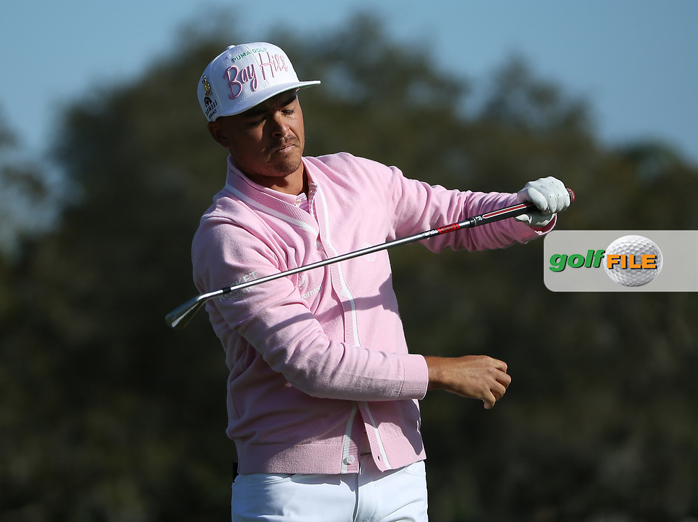 Rickie Fowler (USA) during the 3rd round of the Arnold Palmer Invitational presented by Mastercard, Bay Hill, Orlando, Florida, USA. 07/03/2020.<br /> Picture: Golffile | Scott Halleran<br /> <br /> <br /> All photo usage must carry mandatory copyright credit (© Golffile | Scott Halleran)