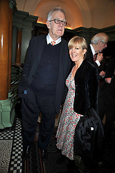 RICHARD INGRAMS and CANDIDA LYCETT-GREEN at the 2009 Oldie of The Year Award lunch held at Simpson's in The Strand, London on 24th February 2009.