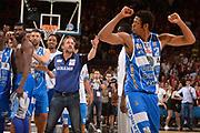 DESCRIZIONE :  Lega A 2014-15  EA7 Milano -Banco di Sardegna Sassari playoff Semifinale gara 7<br /> GIOCATORE : James Shawn<br /> CATEGORIA : Low Esultanza Mani <br /> SQUADRA : Banco di Sardegna Sassari<br /> EVENTO : PlayOff Semifinale gara 7<br /> GARA : EA7 Milano - Banco di Sardegna Sassari PlayOff Semifinale Gara 7<br /> DATA : 10/06/2015 <br /> SPORT : Pallacanestro <br /> AUTORE : Agenzia Ciamillo-Castoria/Richard Morgano<br /> Galleria : Lega Basket A 2014-2015 Fotonotizia : Milano Lega A 2014-15  EA7 Milano - Banco di Sardegna Sassari playoff Semifinale  gara 7<br /> Predefinita :