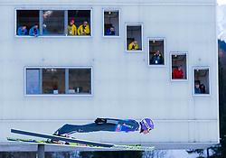 31.12.2017, Olympiaschanze, Garmisch Partenkirchen, GER, FIS Weltcup Ski Sprung, Vierschanzentournee, Garmisch Partenkirchen, Training, im Bild Andreas Wellinger (GER) // Andreas Wellinger of Germany during his Practice Jump for the Four Hills Tournament of FIS Ski Jumping World Cup at the Olympiaschanze in Garmisch Partenkirchen, Germany on 2017/12/31. EXPA Pictures © 2017, PhotoCredit: EXPA/ Jakob Gruber