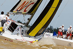 2008 Monsoon Cup. First round robins. Johnie Berntsson and Peter Gilmour  (Thursday  4rd December 2008). .