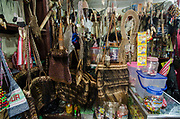 Animal Artefacts<br /> Souvenir shop<br /> Sorong<br /> West Papua<br /> Indonesia<br /> ENDANGERED