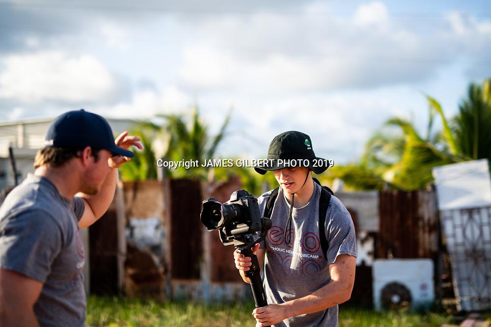 James Drysdale <br /> Patrick Lane <br /> <br /> St Joe mission trip to Belize 2019. JAMES GILBERT PHOTO 2019