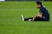 Infortunio Yuto Nagatomo Injured Inter<br /> Milano 08-02-2015 Stadio Giuseppe Meazza - Football Calcio Serie A Inter - Palermo. Foto Giuseppe Celeste / Insidefoto