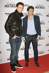 Curzon Bloomsbury, London, December 14th 2016. Celebrities attend the launch of Amazon Prime's European premiere for Season 2 of The Man In The High Castle. PICTURED: Rupert Evans and Jay Marime from Amazon Prime Video, Europe