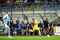 Tonci Mujan of NK Domzale during Football match between NK Domzale and Malmo FF in Second Qualifying match of UEFA Europa League 2019/2020, on July 25th, 2019 in Sports park Domzale, Domzale, Slovenia. Photo by Grega Valancic / Sportida