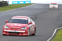 2008 British Touring Car Championship.  Knockhill, Scotland, United Kingdom.  16th-17th August 2008.  (55) - John George (GBR) - TH Motorsport Racing with JAG Honda Integra.  World Copyright: Peter Taylor/PSP. Copy of publication required for printed pictures. Every used picture is fee-liable.
