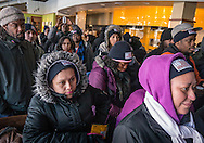 Union workers prepare to strike Pentagon for higher minimum wage. 2013