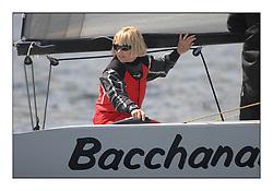 The Brewin Dolphin Scottish Series, Tarbert Loch Fyne..Day 1 Bright conditions on Loch Fyne...Shirley Robertson onboard RS Elite Bacchanalia ..Credit : Marc Turner / PFM.