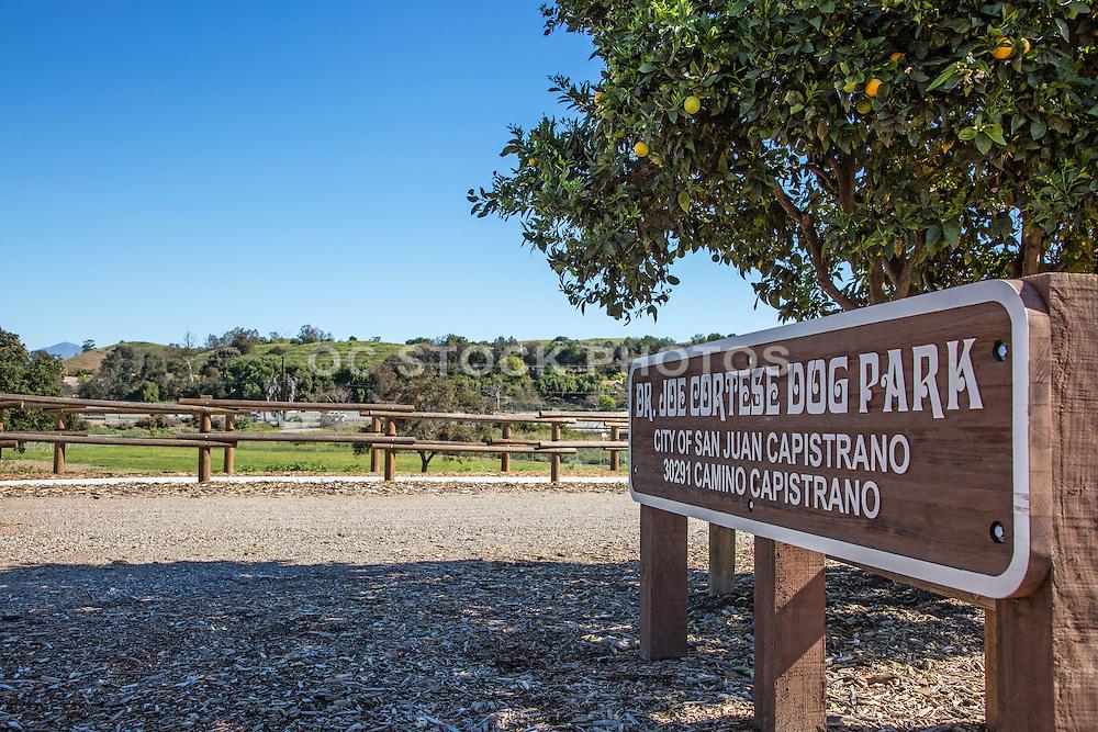 Dr. Joe Cortese Dog Park in San Juan Capistrano
