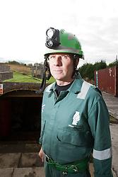 Operations manager Errol Parrish at the Mine Rescue Service at Crossgates Training Centre, Crossgates, Fife..Pic © Michael Schofield.