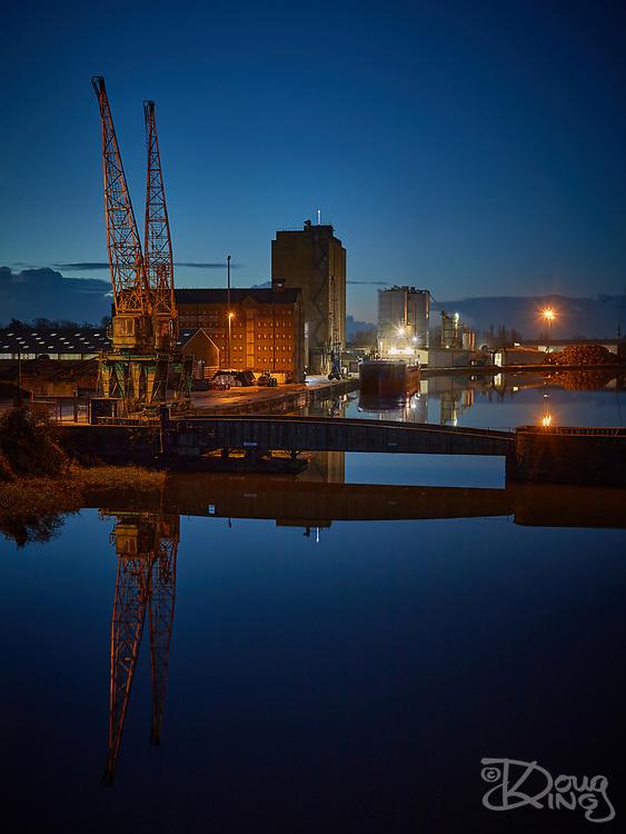 Sharpness Docks Before Dawn