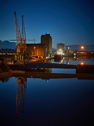 Sharpness Docks Before Dawn