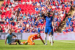 August 5, 2018 - Tammy Abraham of Chelsea during the 2018 FA Community Shield match between Chelsea and Manchester City at Wembley Stadium, London, England on 5 August 2018. (Credit Image: © AFP7 via ZUMA Wire)