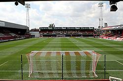 Griffin Park home of Brentford FC - Mandatory by-line: Robbie Stephenson/JMP - 07966386802 - 08/08/2015 - SPORT - FOOTBALL - Brentford,England - Griffin Park - Brentford v Ipswich Town - Sky-Bet Championship