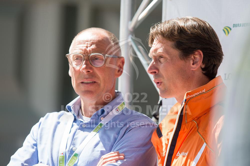 Rob Ehning and Leopold van Asten - Furusiya FEI Nations Cup presented by Longines - CHIO Rotterdam 2016 - Kralingse Bos, Rotterdam, Netherlands - 24 June 2016