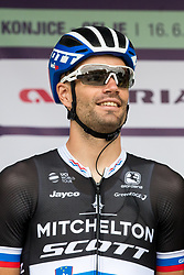 Luka Mezgec of Mitchelton Scott during 1st Stage of 25th Tour de Slovenie 2018 cycling race between Lendava and Murska Sobota (159 km), on June 13, 2018 in  Slovenia. Photo by Matic Klansek Velej / Sportida