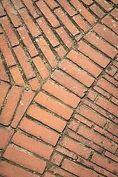 Brick paving