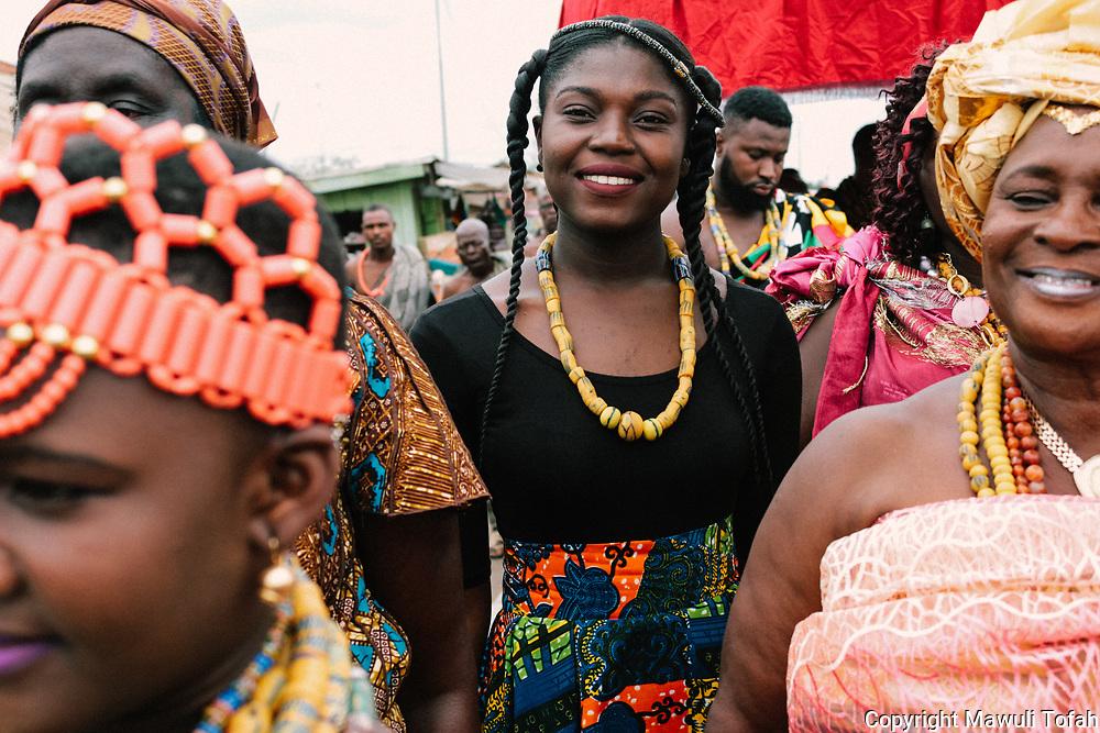 Yam Festival Joy by Florence Ama Geyevu
