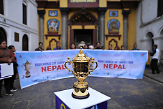 Rugby World Cup 2019 Trophy Tour - 07 Dec 2018