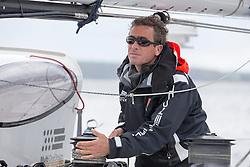 Loik Gallon (FRA). Oman Sail's MOD70 Musandam races in the Eckernförde race at  Kiel week 2014, 21-06-2014, Kiel - Germany.