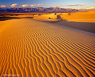 Mesquite Flat Sand Dunes in Death Valley National Park in California
