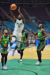 September 15, 2017 - Tunis, Tunisia - Nwamu Ikechukwu(34)of Nigeria  during the semi-final of FIBA AfroBasket 2017....Afrobasket 2017: Semifinal: Senegal eliminated by Nigeria who find Tunisia in the final  (Credit Image: RealTime Images)