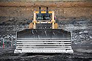 Caterpillar Bulldozer at a coal mine