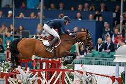 Staut Kevin (FRA) - Kraque Boom*Bois Margot<br /> European Championship Jumping Windsor 2009<br /> © Hippo Foto - Dirk Caremans