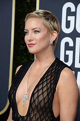 Kate Hudson attending the 75th Annual Golden Globes Awards held at the Beverly Hilton in Beverly Hills, in Los Angeles, CA, USA on January 7, 2018. Photo by Lionel Hahn/ABACAPRESS.COM  | 620791_090 Los Angeles Etats-Unis United States