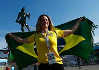 Brazil supporter<br /> Moscow 27-06-2018 Football FIFA World Cup Russia  2018 <br /> Serbia - Brazil / Serbia - Brasile<br /> Foto Matteo Ciambelli/Insidefoto