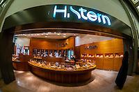 H. Stern Jewelry store, Duty Free Rotunda, Ben Gurion International Airport, Israel.