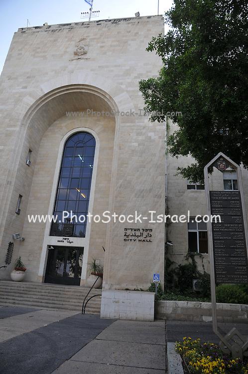 Israel, Haifa City Hall