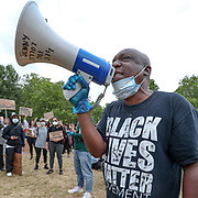 June 3, 2020, London, England, United Kingdom: People participate in a Black Lives Matter protest rally in Hyde Park, London, on Wednesday, Jun 3, 2020 - in memory of George Floyd who was killed on May 25 while in police custody in the US city of Minneapolis. (Credit Image: © Vedat Xhymshiti/ZUMA Wire)