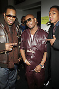 l to r: Busta Ryhmes, Ron Browz and Nick Cannon at The Vibe Magazine Presents Vsessions Live! Hosted by the Fabulous Toccara featuring Hal Linton, Suai and Ron Browz held at Joe's Pub on February 25, 2009 in NYC