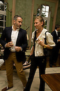 ELIZABETH VON GUTTMAN; JONATHAN REED, Serpentine Pavilion opneing event: Drinks party hosted by the American Ambassador Robert Tuttle at his residence  in Regent's Park. .  *** Local Caption *** -DO NOT ARCHIVE-© Copyright Photograph by Dafydd Jones. 248 Clapham Rd. London SW9 0PZ. Tel 0207 820 0771. www.dafjones.com.
