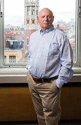 Stephen James in his Baker Street office. London, May 26 2019.