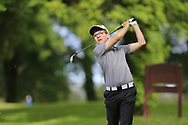 Keelan McCarthy (Lee Valley) during the final round of the Connacht Boys Amateur Championship, Oughterard Golf Club, Oughterard, Co. Galway, Ireland. 05/07/2019<br /> Picture: Golffile   Fran Caffrey<br /> <br /> <br /> All photo usage must carry mandatory copyright credit (© Golffile   Fran Caffrey)