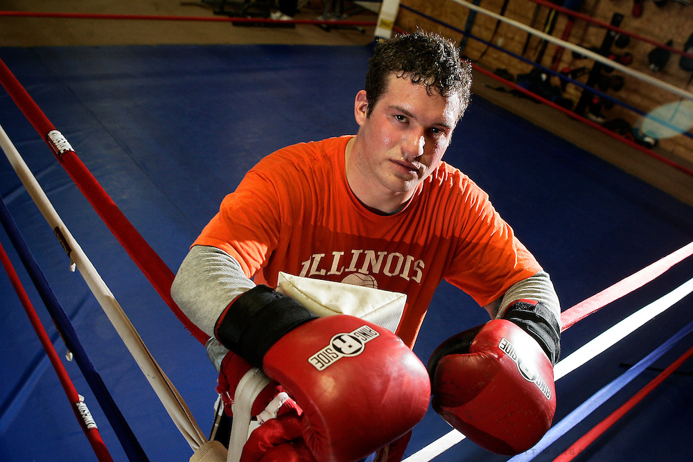 Toughman heavyweight competitor David Banks.SCOTT MORGAN   ROCKFORD REGISTER STAR
