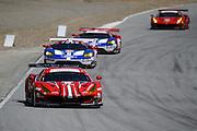 April 29-May 1, 2016: IMSA Monterey Sportscar Grand Prix. #68 Alessandro Pier Guidi, Daniel Serra, Scuderia Corsa, Ferrari 488 GTE