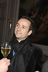 MATTHEW HERMER a director of the Ignite Group which own Boujis at a dinner to celebrate the launch of the Dom Ruinart 1998 vinatage champage at Claridge's, Brook Street, London W1 on 23rd April 2008.<br /><br />NON EXCLUSIVE - WORLD RIGHTS