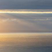 Last light I, Irish sea from the Mull of Kintyre, Argyll & Bute, Scotland.